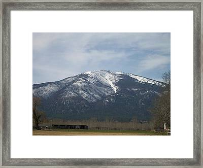 The Longshed Framed Print by Jewel Hengen