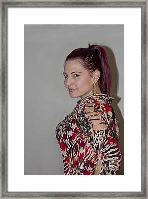 The Look Framed Print by Al Bourassa