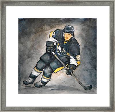 The Look Of A Champion Framed Print