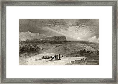 The Look Out From Cape George Russell Framed Print