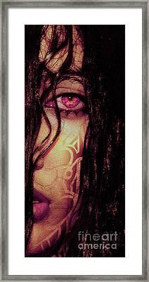 The Look..  Framed Print by Prar Kulasekara