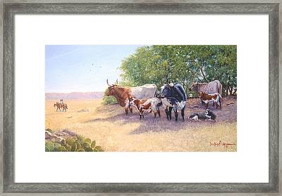 The Lookers Framed Print by Howard Dubois