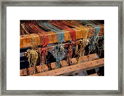 The Loom Framed Print by Art Block Collections