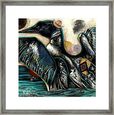 The Loon Framed Print