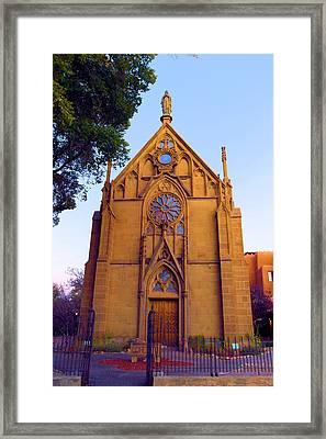 The Loretto Chapel Framed Print by Jeff Swan