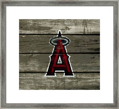 The Los Angeles Angels Of Anaheim 1a Framed Print