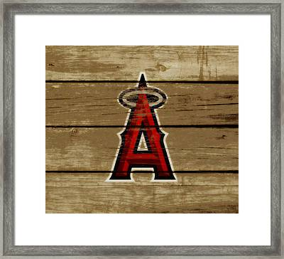 The Los Angeles Angels Of Anaheim Framed Print