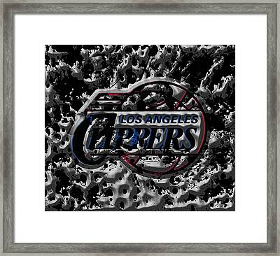 The Los Angeles Clippers 1a Framed Print