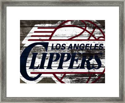 The Los Angeles Clippers 3a Framed Print