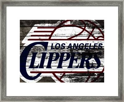The Los Angeles Clippers 3b Framed Print