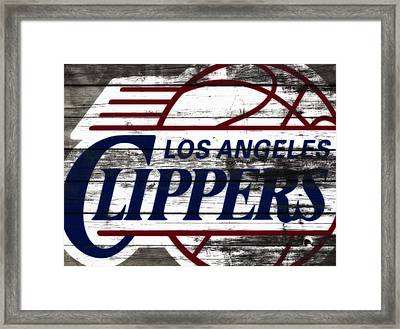 The Los Angeles Clippers 3c Framed Print