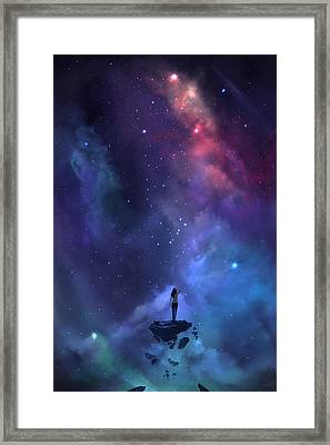 The Loss Framed Print by Steve Goad