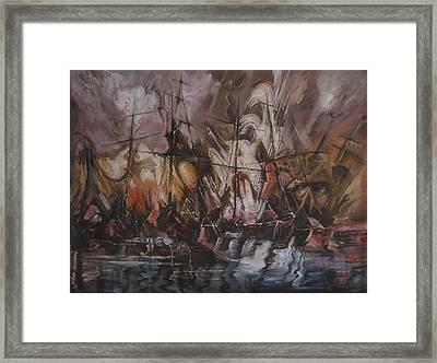 The Lost Armada IIi Framed Print