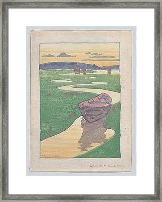 The Lost Boat , Arthur Wesley Dow Framed Print