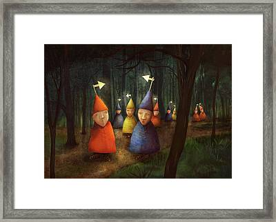 The Lost Brigade Framed Print