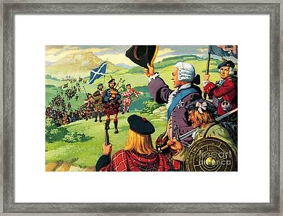 The Lost Cause Of Bonnie Prince Charlie Framed Print