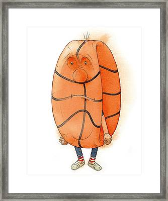 The Lost Game Framed Print by Kestutis Kasparavicius