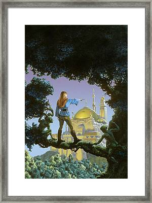The Lost Palace Framed Print by Richard Hescox