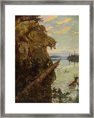 The Lost Quarry Framed Print by MotionAge Designs