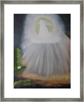 The Lost Sheep Framed Print by Edwin Long