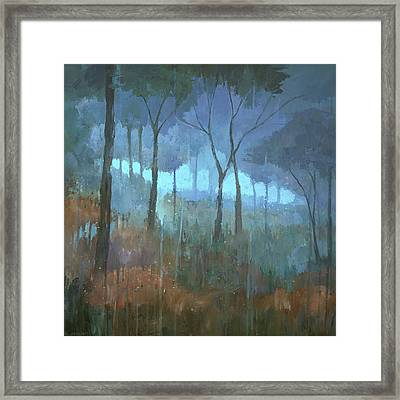 The Lost Trail Framed Print