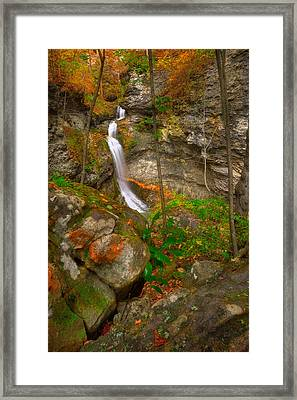 The Lost Valley Framed Print by Ryan Heffron