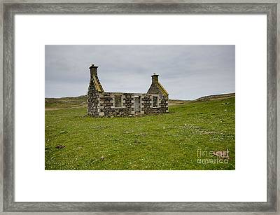 The Lost Village Framed Print by Nichola Denny