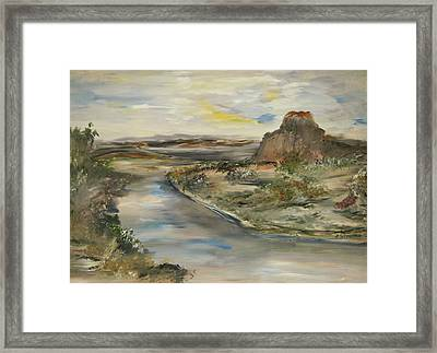 The Lost World Framed Print by Edward Wolverton