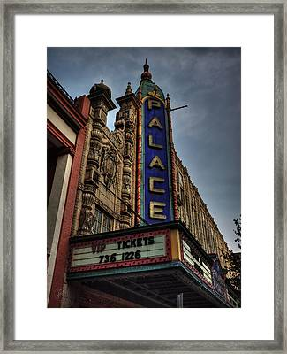 The Louisville Palace 001 Framed Print