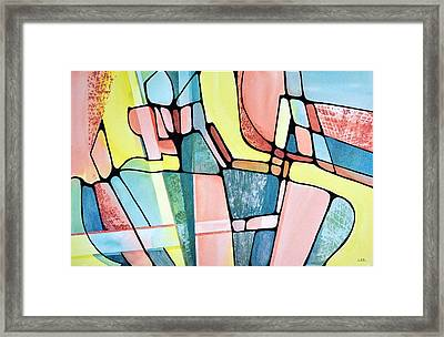 The Lounge Framed Print
