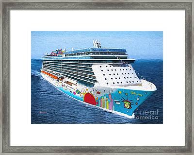 The Love Boat Framed Print