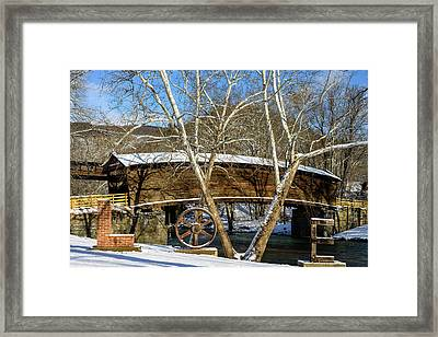 The Love Bridge Framed Print by Michael Scott