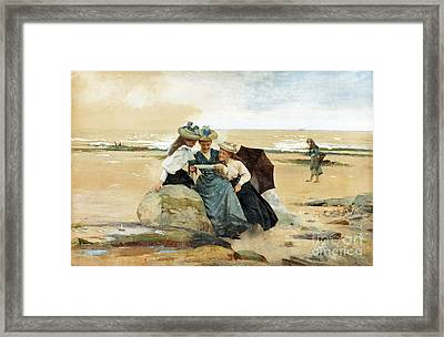 The Love Letter  Framed Print by MotionAge Designs