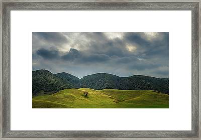 The Love Of Place Framed Print