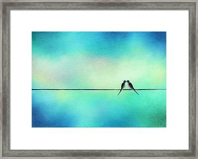 The Love We Hold Framed Print by Rachel Bingaman