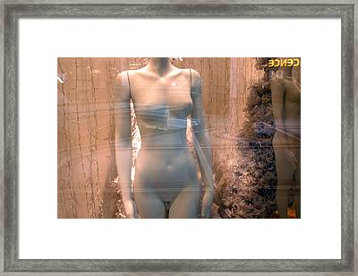 The Lovely Kirsty Framed Print by Jez C Self