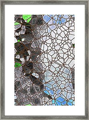 Framed Print featuring the digital art The Lovely Spider by Wendy J St Christopher
