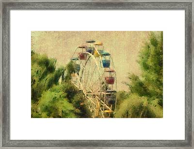 The Lover's Ride Framed Print by Trish Tritz