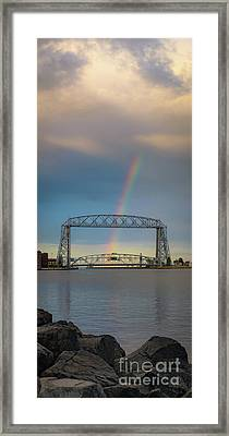 The Lovers, The Dreamers And Duluth Framed Print by Mark David Zahn