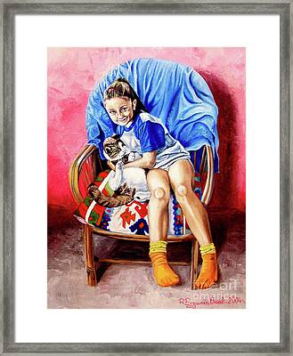 The Loyalty - La Fidelidad Framed Print