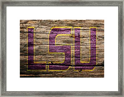 The Lsu Tigers 1a Framed Print