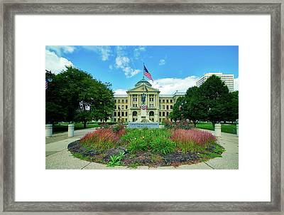 The Lucas County Courthouse Framed Print by Mountain Dreams