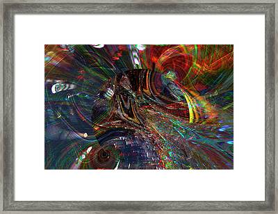 The Lucid Planet Framed Print