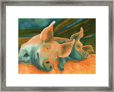 The Lucky Ones Framed Print by Tracy L Teeter