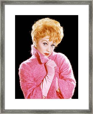 The Lucy Show, Lucille Ball, 1962-68 Framed Print by Everett