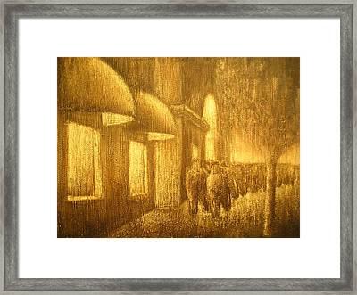 The Lumber Exchange Framed Print by Jaylynn Johnson