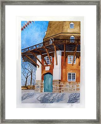 The Lumby Mill Framed Print