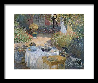 Decorative Benches Paintings Framed Prints