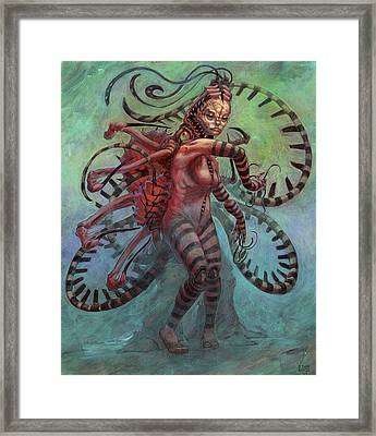 The Lure Mimic Framed Print