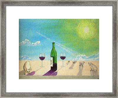 The Luxury Of Change Framed Print by Michael Townsand